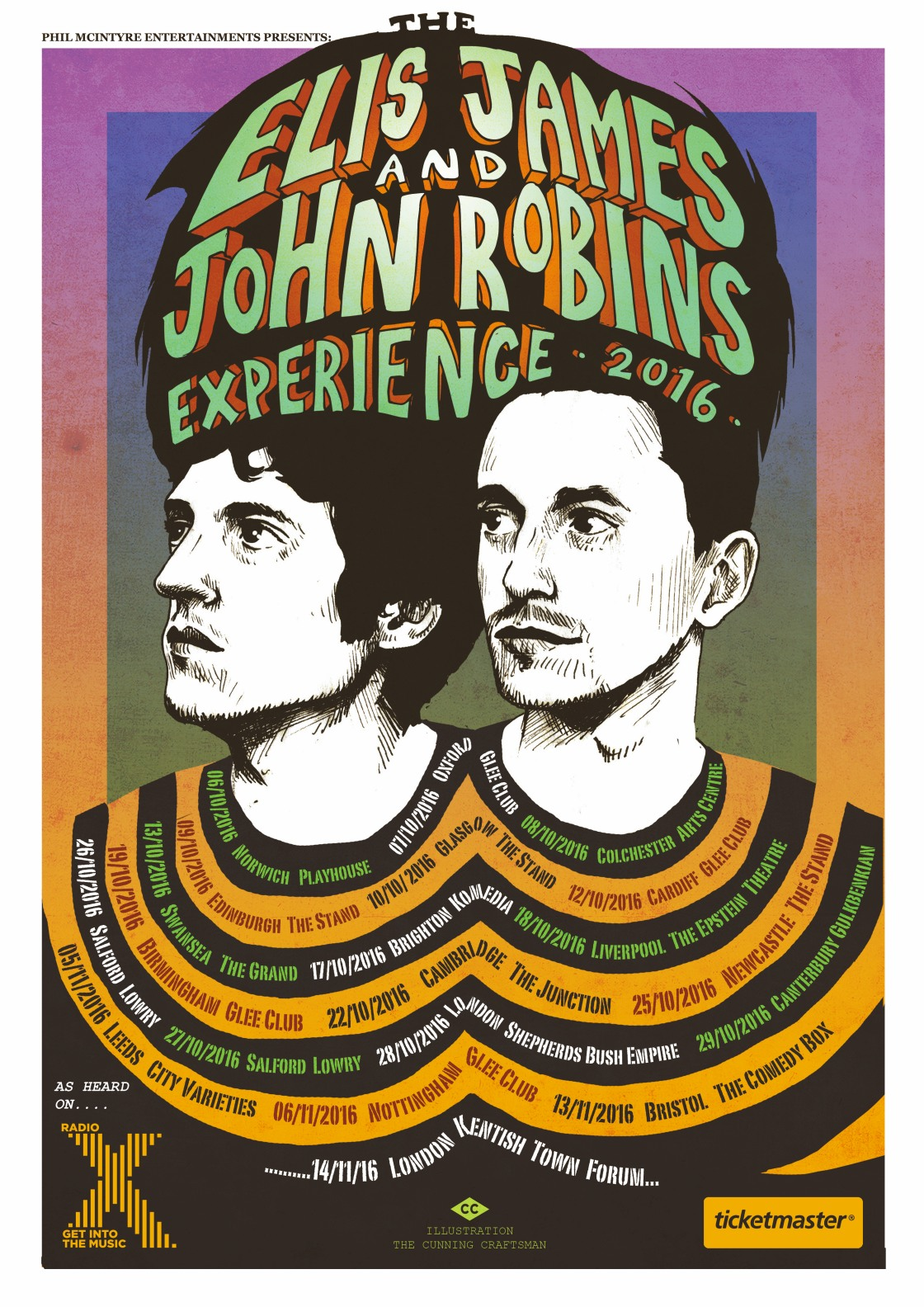 Click for tickets to The Elis James and John Robins Experience